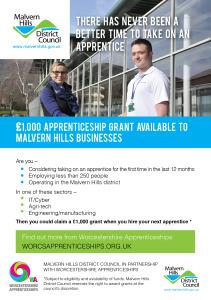 110315 MHDC Apprenticeship Grant Scheme flyer A5 E-FLYER