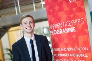 Worcestershire Apprentice of the Year Ben Hyde, of Sanctuary Group