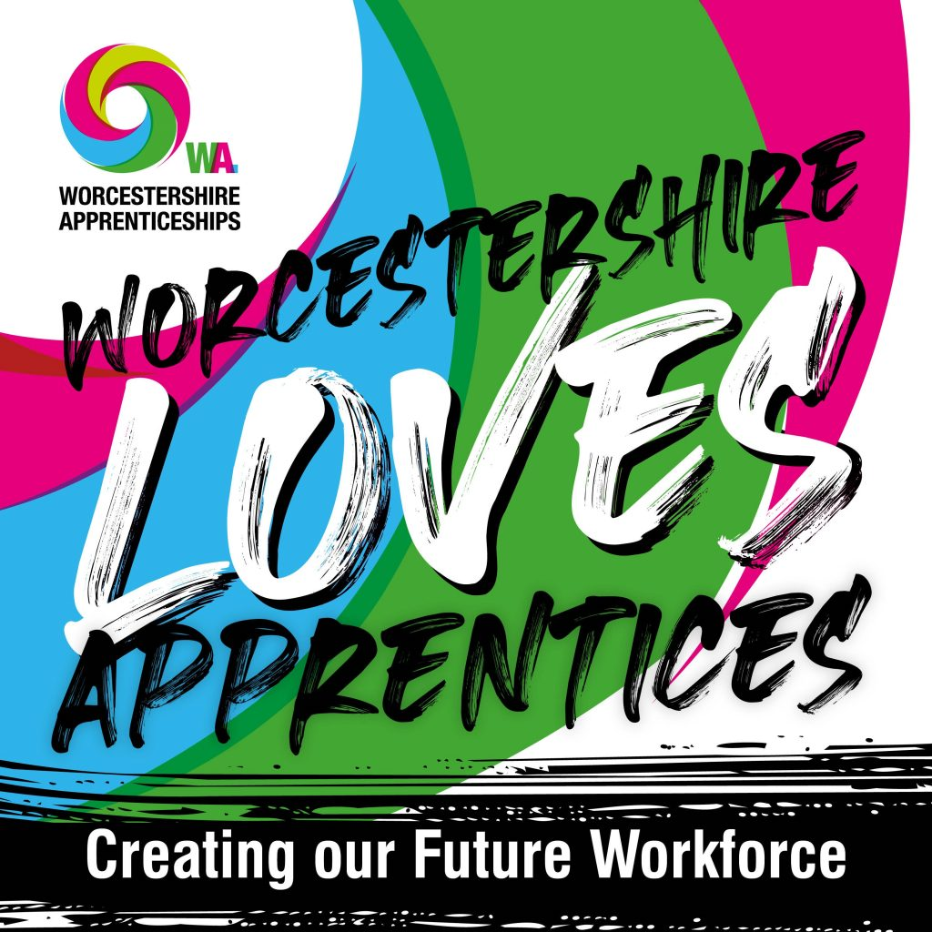 Worcestershire Loves Apprentices Social media image
